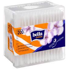 <b>Ватные палочки</b> Bella Cotton, <b>200</b> шт | Магнит Косметик