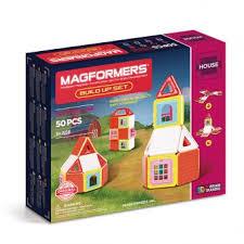 Магнитный <b>конструктор MAGFORMERS Build</b> Up Set 705003 ...