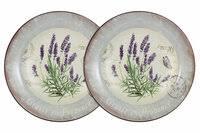 <b>Набор</b> из 2-х <b>суповых тарелок</b> 21 см, LF Ceramic Лаванда (55283al)