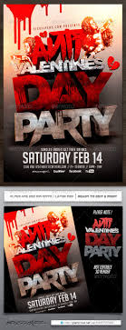valentine print templates share stock anti valentines day flyer template holidays events