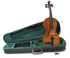 Windsor <b>Full Size 4/4 Violin</b> Outfit Includes Light weight Zipped Case ...