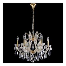 Подвесная <b>люстра Crystal Lux Hollywood</b> SP6 Gold. — купить в ...