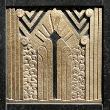 art deco ornament art deco ornamentation in the door reveal of the carbide and carbon art deco office tower piet