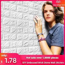 <b>Hot Sale</b> PE Foam 3D Wallpaper <b>DIY</b> Wall Stickers Wall Decor ...