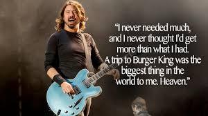 Dave Grohl Inspirational Quotes. QuotesGram via Relatably.com