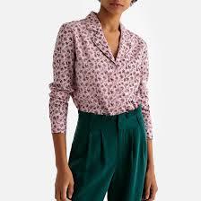 <b>Рубашка</b> в стиле пижамы с цветочным принтом рисунок/фон ...