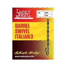 <b>Вертлюги c застежкой Lucky</b> John Barrel3 And Italian