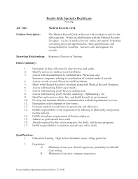 resume examples medical biller sample resume with education and duties of medical biller