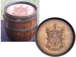 wine barrel head used in wine barrel carvings barrel wine cellar designs