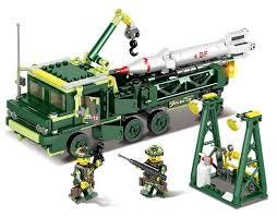 <b>Конструктор Kazi</b> Полевая армия 84057 <b>Ракетные войска</b> 2 в 1 ...