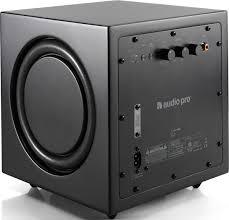 <b>Сабвуфер Audio Pro Addon</b> C-Sub, черный — купить в интернет ...