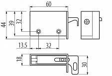 Каталог <b>Навес для шкафа</b> регулируемый. Комплект левый + ...