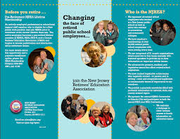 join njrea new jersey education association njrea brochure