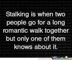 Romantic Stalk <3 by takahood - Meme Center via Relatably.com