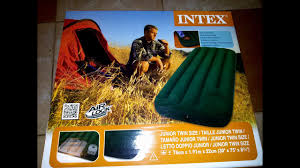 Обзор <b>надувной</b> матрац-<b>кровать</b> INTEX со встроенным насосом ...