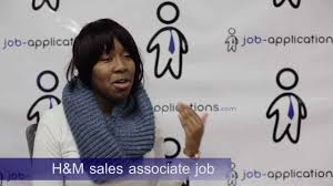 h m interview s associate