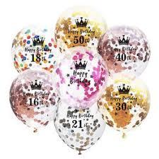 10PCS/Lot 12Inch Air Balloonst latex Ballons Confetti ... - Vova