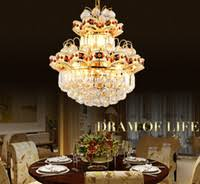 Wholesale <b>Modern Crystal Chandelier</b> Gold <b>European</b> - Buy Cheap ...