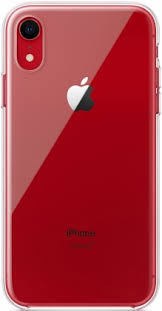 Клип-кейс Apple <b>iPhone XR</b> MRW62ZM/A прозрачный