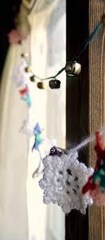 Jingle Bell Garland Crocheted Jingle Bell Garland Pattern