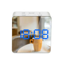 <b>Creative LED Digital Alarm</b> Clock Night Light Thermometer Display ...
