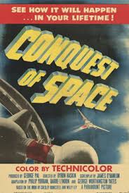 Image result for images from 1955 conquest of space