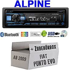 Fiat Punto Evo/199 – <b>Alpine CDE 203BT</b> Bluetooth CD USB MP3 ...