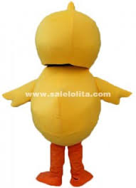 Yellow <b>Chicken Mascot</b> Costume <b>Adult Size Chicken Mascot</b> Costume