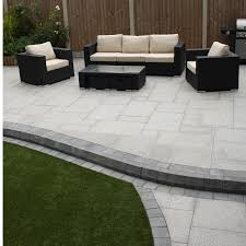 patio slab sets: natural paving granite premiastone birch paving slabs