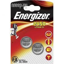 <b>Батарейка CR2450</b> - <b>Energizer</b> Lithium 3V