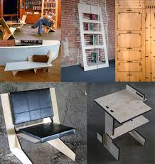amazing furniture from one piece of plywood amazing furniture designs