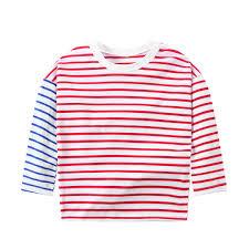 <b>CYSINCOS</b> Children's <b>Clothing</b> Baby Cotton Stitching Red Blue ...