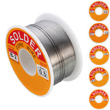 100g Soldering Wire 63/37 Tin Lead Rosin Core Solder Reel Built In ...