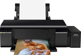<b>Принтер</b> струйный <b>Epson L805</b> (<b>C11CE86403</b>) A4 WiFi USB Black