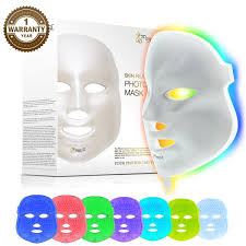 <b>LED</b> Photon <b>Therapy 7 Color</b> Light Treatment Skin Rejuvenation ...