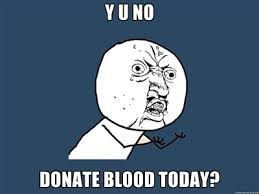Y-U-No Donate | via Relatably.com