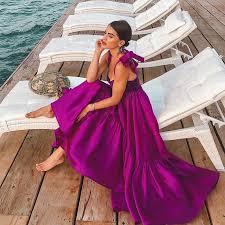 Women <b>Backless Sexy Tassel Dress</b> Summer Beach <b>Dress</b> Low Cut ...