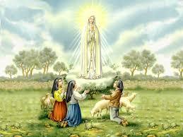 Virgen de Fátima. 13 de mayo.