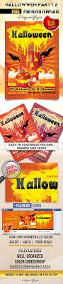 psd halloween flyer templates psd templates bigpreview hallowwen party flyer psd template facebook cover