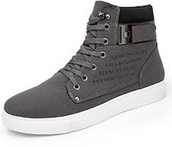 Fashion Spring Autumn Men Casual High Top Shoes ... - Amazon.com