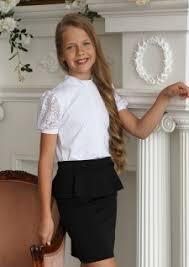 <b>Блузки</b> - <b>Школьная</b> форма - Детская одежда оптом от ...