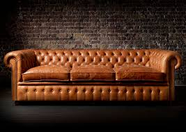 chesterfield sofa leather 3 seater brown william fleming howland chesterfield sofa leather 3