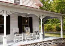 patio vs porch  front porch with rocking chairs x