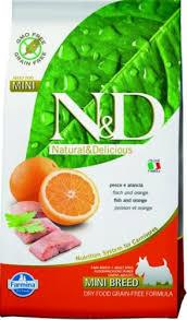 <b>farmina n&d dog gf</b> adult mini fish & orange 7 kg - GundogStore.eu