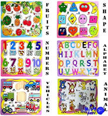 3 - 4 years - Wooden Puzzles / Puzzles: Toys & Games - Amazon.in
