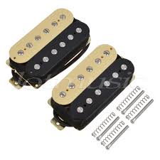 <b>Double Coil Humbucker Pickups</b> Bridge and Neck Set for Electric ...