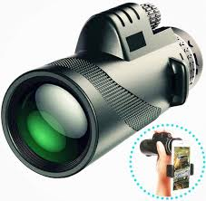 <b>40x60</b> Portable <b>Monocular</b> Telescope High-Definition Outdoor ...
