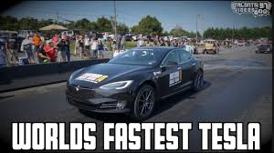 Watch Tesla Model S P100D <b>Set New 1</b>/4-Mile World Record