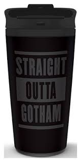 Купить <b>Кружка Batman</b>: Straight Outta Gotham Travel Mug по ...