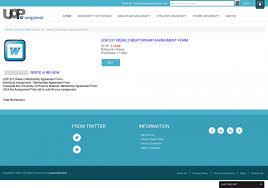 ldr 531 week 2 mentorship agreement form uop online assignments ldr 531 week 2 mentorship agreement form uop online assignments solutions infographic